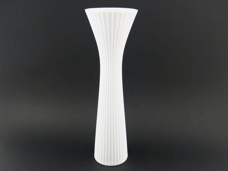 gro e wei matte vase von rosenthal studio line aus der. Black Bedroom Furniture Sets. Home Design Ideas